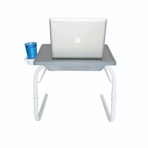 Multipurpose Tablemate - Grey with White Legs - Small | Wudore