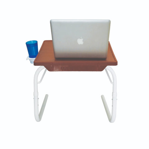 Multipurpose Tablemate - Chocolate Top with White Legs - Small | Wudore