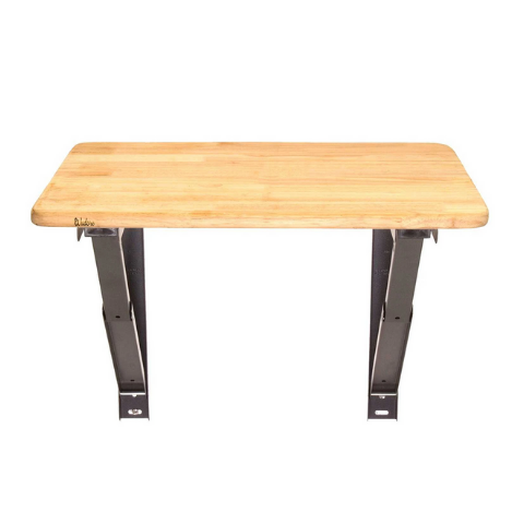 Wall mounted laptop table with folding attachment I Wudore.com