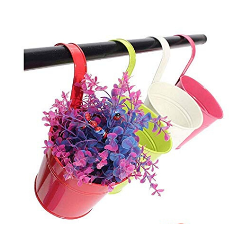 Outdoor Hanging flower pots - Wudore.com