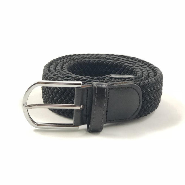 Flex-Belt Black Braided Belt