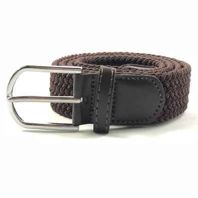 Flex-Belt Brown Braided Belt