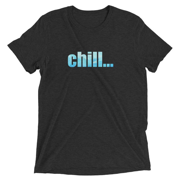 chill... Bold Logo Watercolor T-shirt