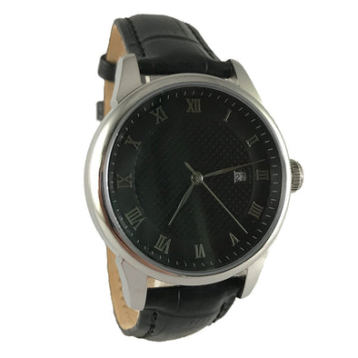 Day-n-Night - Black / Leather Watch