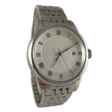 Day-n-Night - White / Stainless Steel Watch