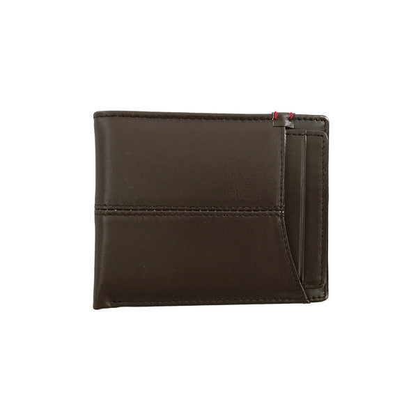 Escape Sleeve Brown Leather Bi-Fold Wallet