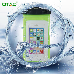 Clear Waterproof Mobile Phone Bags with Strap Dry Pouch Case Cover