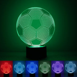 LED 3D Soccer Nightlight