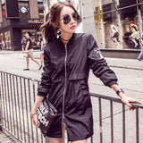 Women's Long Bomber Jacket