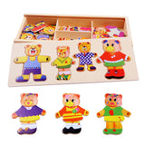 Wooden Jigsaw Model Kits 72 pieces
