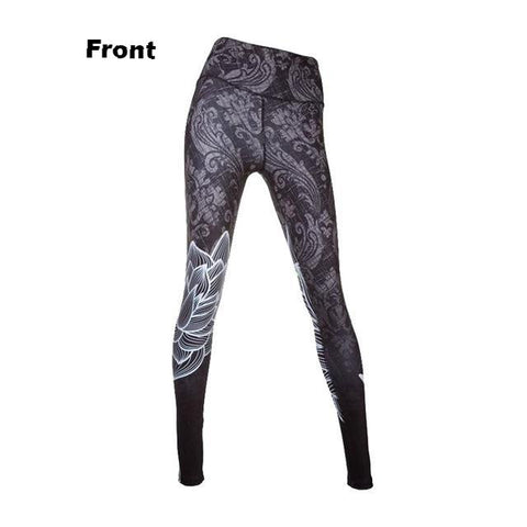 Women's Floral Print Leggings