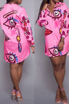 All Eyes On Me Fashion Shirt Dress- 2 Colors Available!