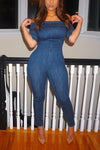 Dare Me Denim Jumpsuit