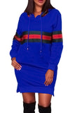 Just Fab Hooded Mini Dress - 5 Colors Available! - Bella Bella Fashions