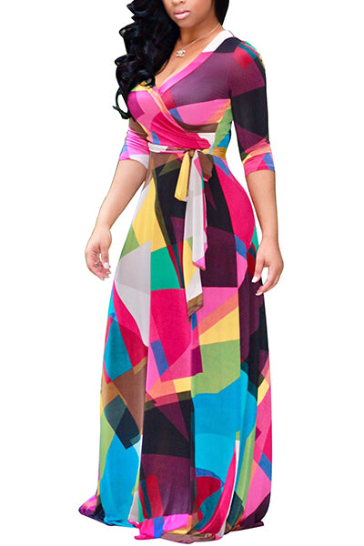 Now And Forever Maxi Dress - Bella Bella Fashions