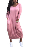 Slouchy Love Leisure Dress - 3 Colors Available!