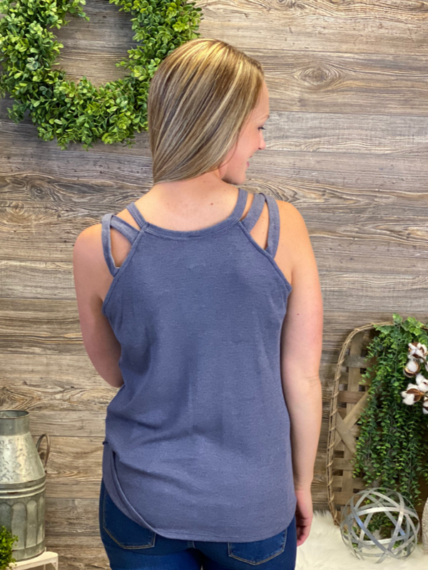 Solid Ribbed Tank (2 Colors)