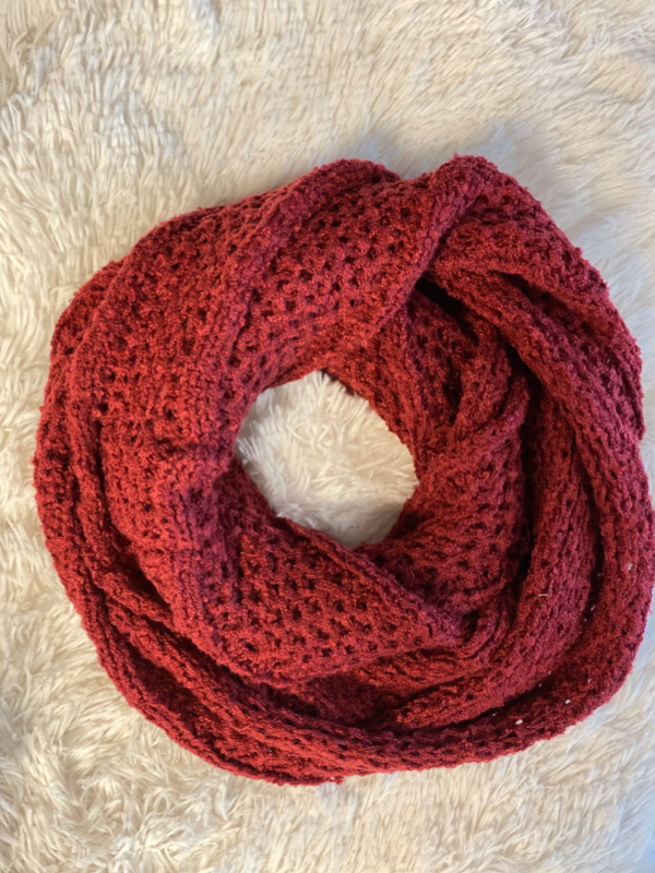 Knit Infinity Scarf (2 Colors)