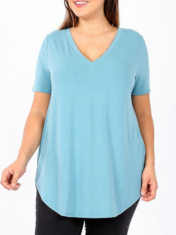 Favorite Tee Curvy (2 Colors)