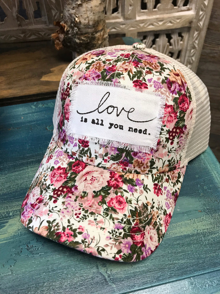 Love Is All You Need Hat