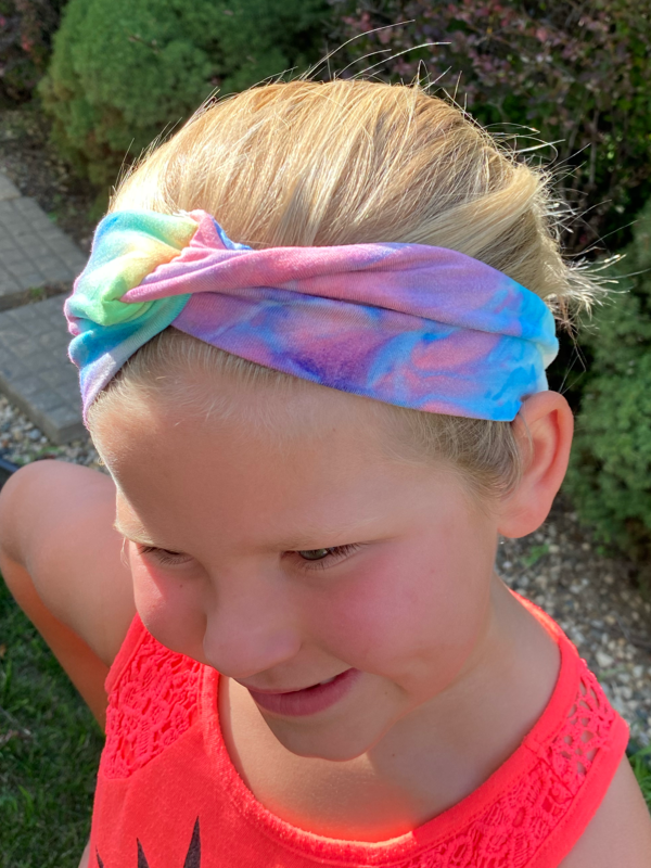 Tie Dye Headband (4 Color Options)