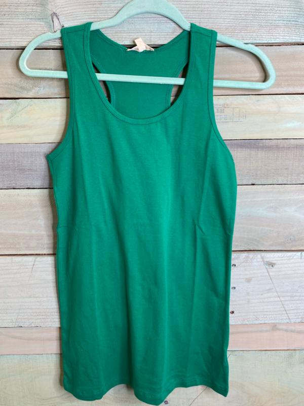 Solid Racer Back Tank (4 Colors)