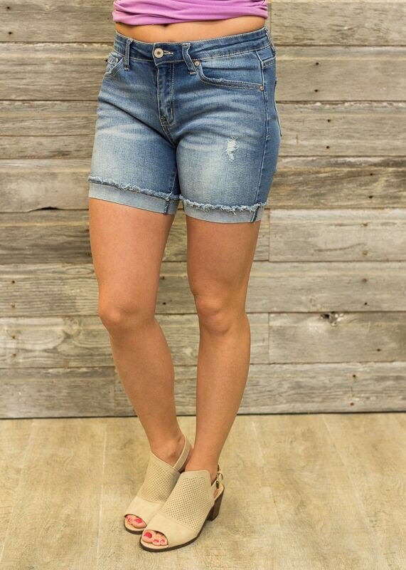 MARISA KANCAN DENIM SHORTS