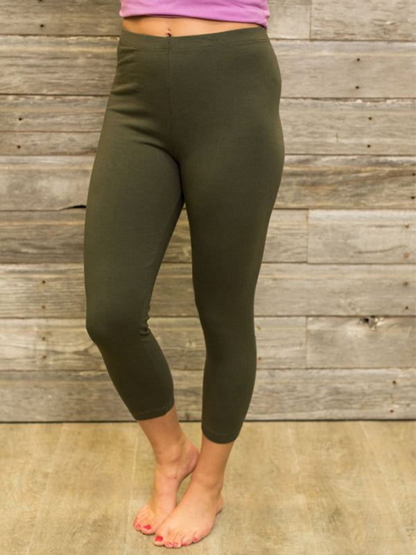Capri Leggings (6 Colors)
