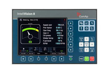 ComAp InteliVision HMI 8in TFT Colour Display