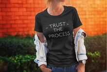 Womens Trust The Process Short Sleeve (Black)