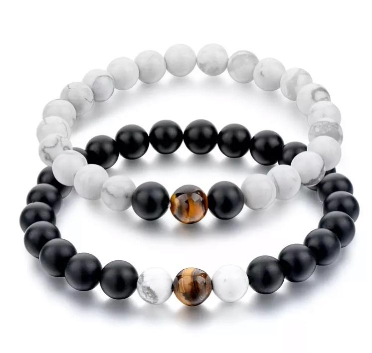 Distance Bracelets Serene Accessories Howlite