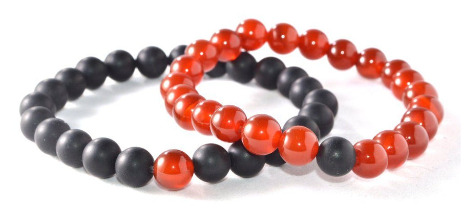 Distance Bracelets Serene Accessories Red