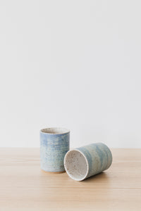 Blue Watercolor Tumblers