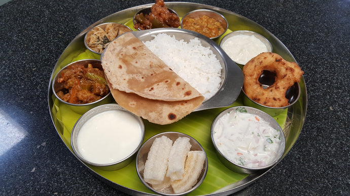 North Indian Special Meals Box