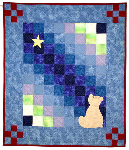 Little Bear's First Star (quilt)