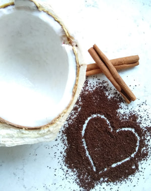 coconut cinnamon coffee ingredients