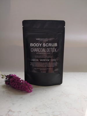 Charcoal detox body scrub100g