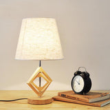 Modern Table Lamp With Fabric Lampshade Metal Desk Light E27 - ePeriod Led Lighting Store