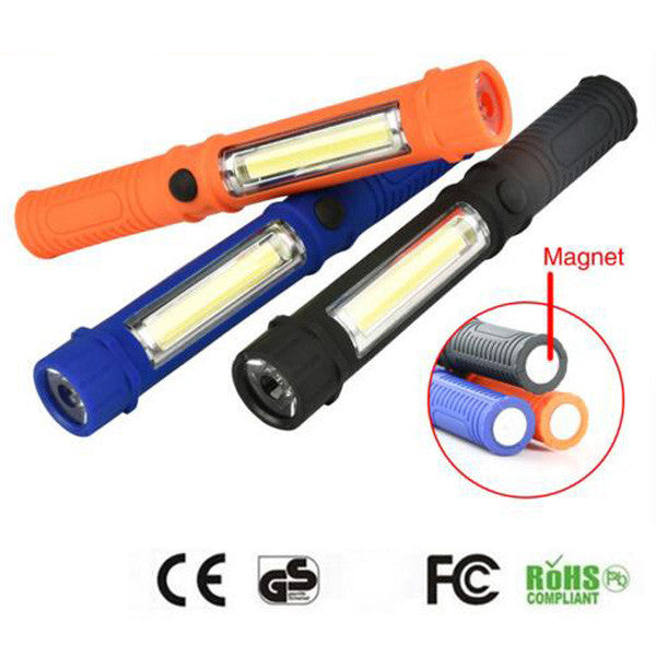 COB LED Mini Pen flashlight Multifunction led Torch - ePeriodLED