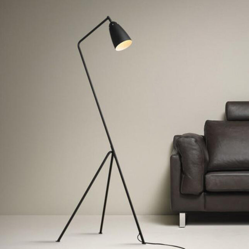 Modern Minimalist Industrial Colorful Tripods Floor Lamp