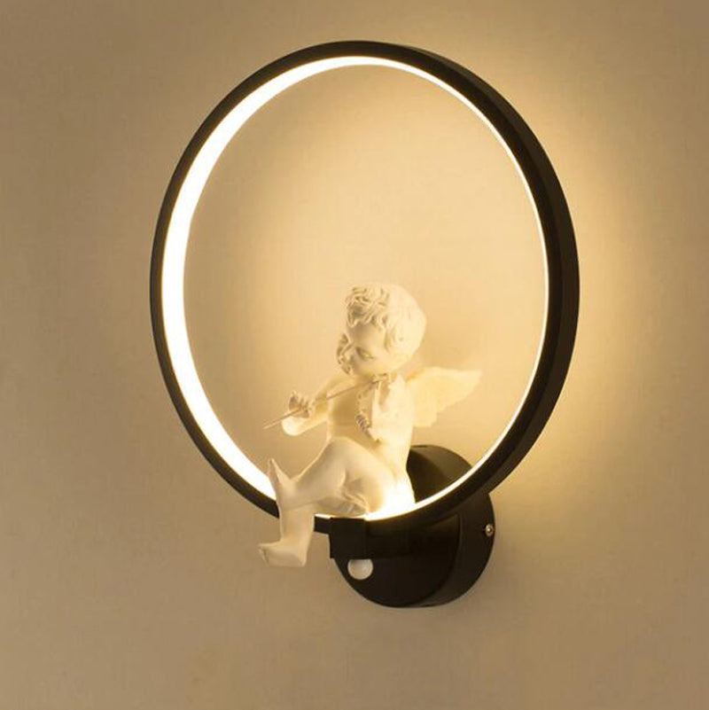 Modern Simple Angle with Violin LED Wall Lamps