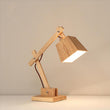 Modern Wood Table Lamp E27 AC110V-240V EU US Plug Student desk lights - ePeriod Led Lighting Store