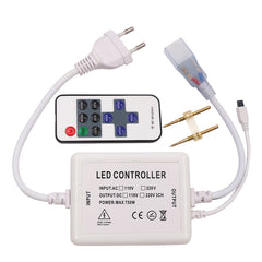 110V 220V led dimmer 11keys IR remote controller Single color 750W - ePeriod Led Lighting Co.,Ltd