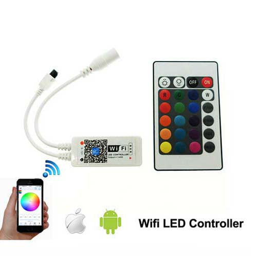 Smart Mini Wifi RGB led controller RGB / RGBW 24Key controller - ePeriod Led Lighting Store
