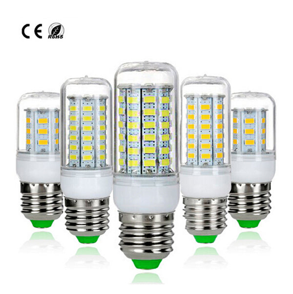 LED lamp E27 E14 SMD 5730 Corn Bulb 220V white/warm white