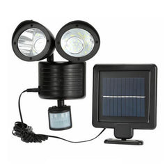 22LED Solar Powered Street Light PIR Motion Sensor