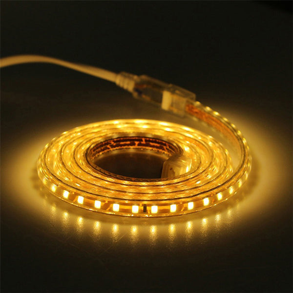 4mm Led strip light 3528 2835 AC220v with Power Plug - ePeriodLED