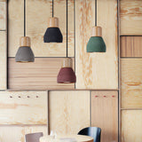 American Country Style cement wood Pendant Light Decoration Hanging Lamp - ePeriodLED