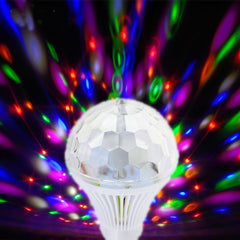 LED Lamp Crystal Stage Light RGB 6W E27 Colorful DJ Disco Party KTV Home effect Bulb - ePeriod Led Lighting Store