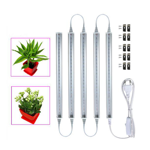 5W LED Grow Light with Switch Cable 2835smd Vegetable Plant 5pcs/lot - ePeriodLED